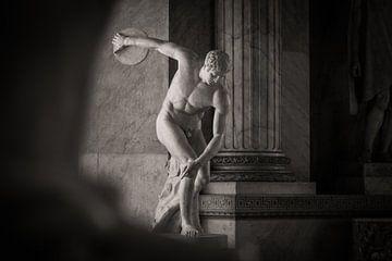Griechische Statue im Vatikan, Rom von Jessie Jansen