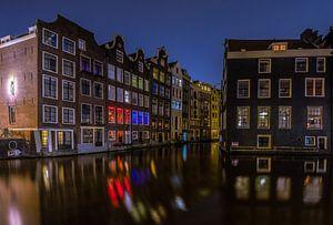 Oudezijds Kolk Amsterdam by Night