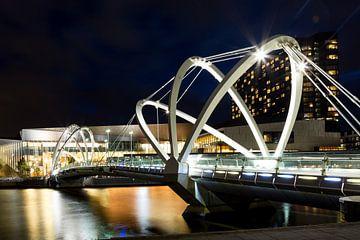 Seafarers Bridge in Melbourne sur Marcel van den Bos