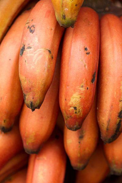 Rode Bananen van Van Renselaar Fotografie