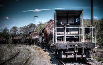Liquid Metal Train von David Smets