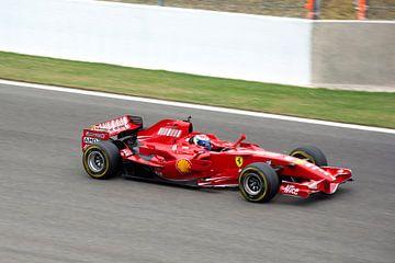 Ferrari F1 2007 op Spa Francorchamps van
