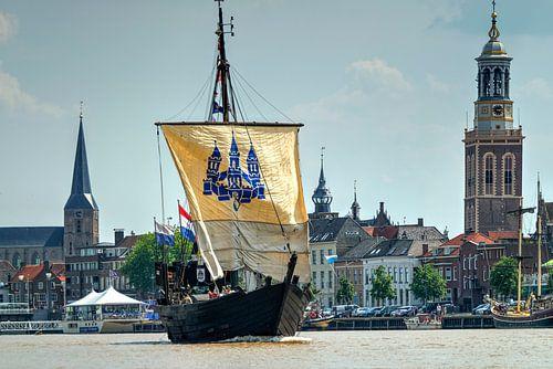 Kamper Kogge op de IJssel bij Kampen