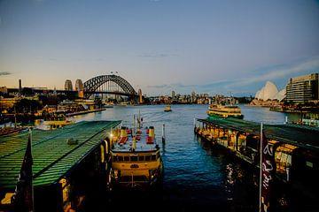 Sydney haven (Australië) van Kaj Hendriks