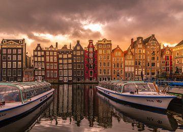 Dark clouds over Amsterdam! van Robert Kok
