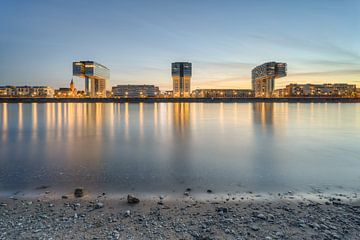 Kranhäuser Köln von Michael Valjak