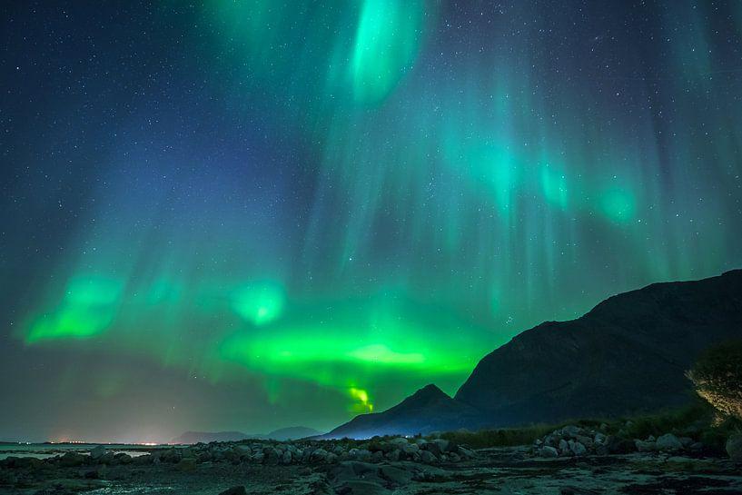 Grün liegt heute Abend in der Luft. von Marc Hollenberg