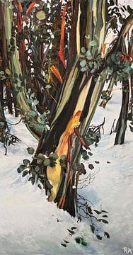 Winterlandschaft z04 von KB Prints