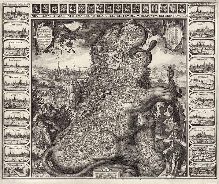 Leonis Belgici sur World Maps