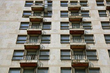 Belgrade Balconies von Floor van der Vrande