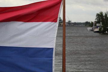 Nederlandse vlag van Sybren ter Schuur