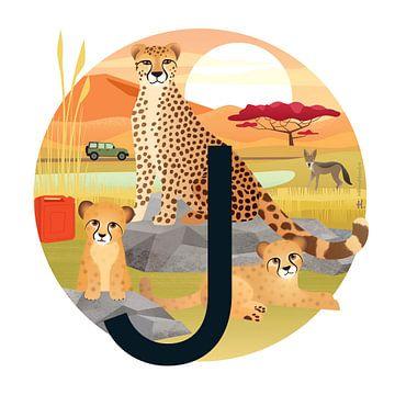 J: Jachtluipaarden en de jakhals van Hannahland .