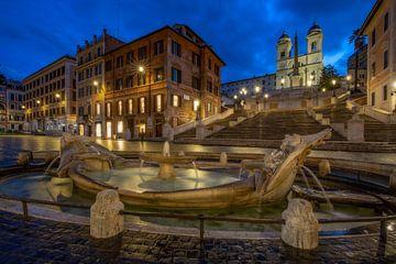 Spanische Treppe - Rom von Salke Hartung