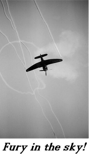 Hawker Sea Fury Motiv 1 van Joachim Serger