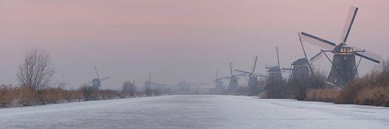 Kinderdijk at dawn van Danny van Schendel