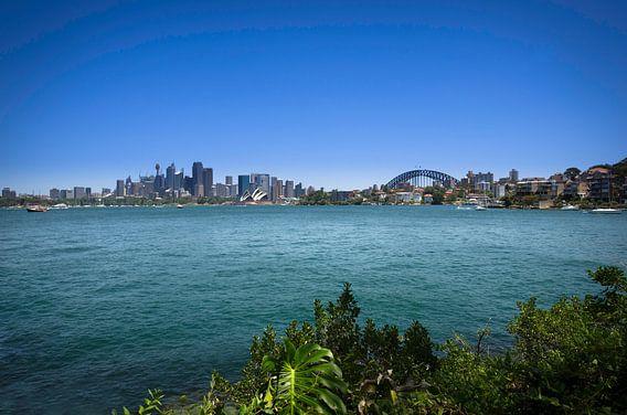 Sydney Skyline - Panorama van Ricardo Bouman | Fotografie