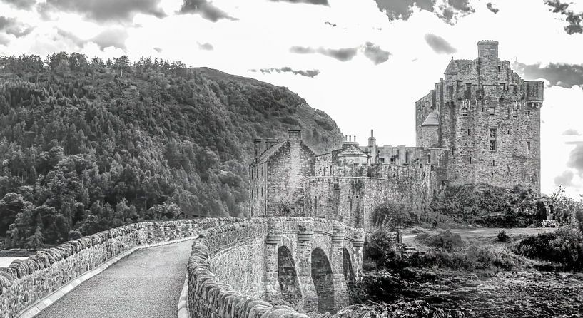 Eilean Donan Castle 2 van Jan Enthoven Fotografie