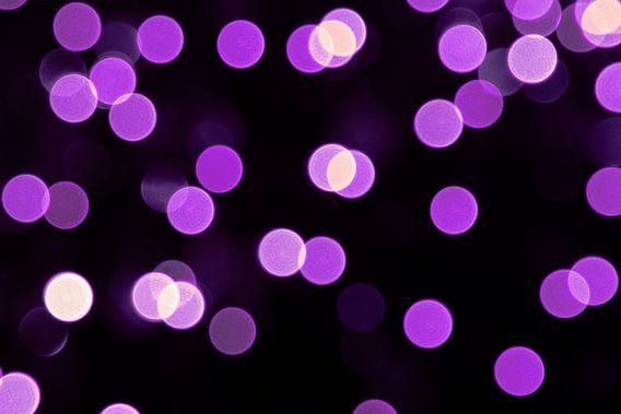 Paarse lichtjes van Miranda van Hulst