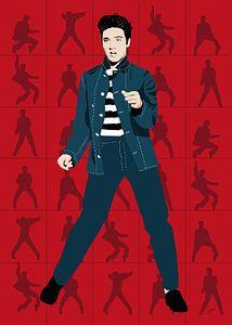 Elvis Presley - Jailhouse Rock van