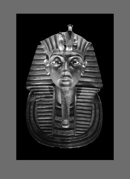 Die Totenmaske des Tutanchamun von Frans Lemmens