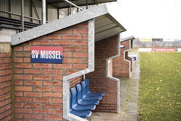 Dug outs bij SV Mussel | Over de Bal van Over de Bal