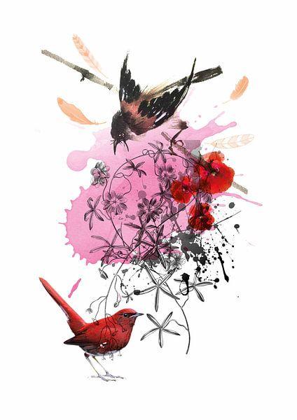 Love Birds van Inge Buddingh