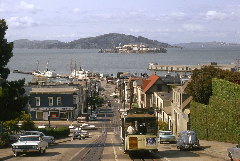 San Fransisco 60s ,Alcatraz van Jaap Ros