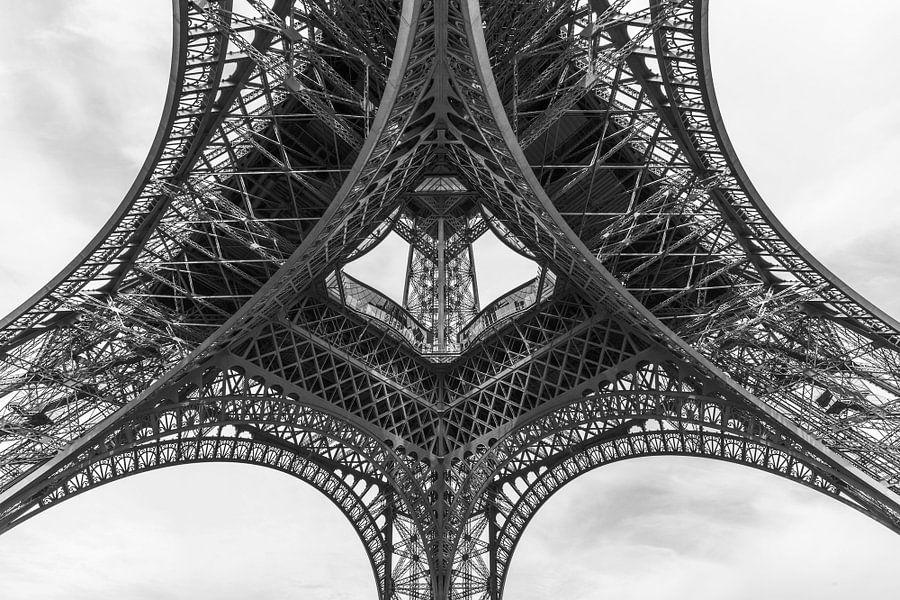 De Eiffeltoren in Parijs van MS Fotografie