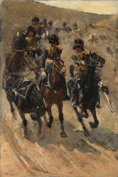 George Hendrik Breitner. De Gele Rijders van 1000 Schilderijen