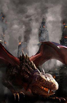 aanval van de draken van