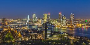 Skyline Rotterdam vanaf de Euromast | Tux Photography - 5