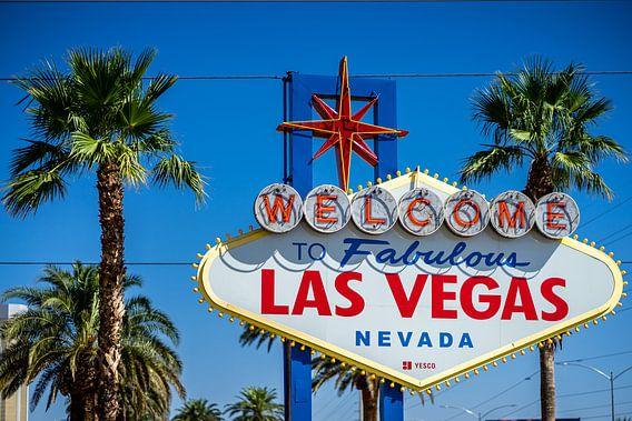 Welkoms bord Las Vegas!