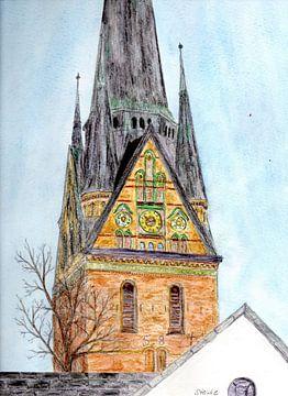 St. Nikolaikirche Flensburg von Sandra Steinke