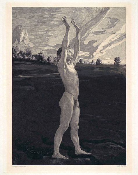And Yet (Und Doch), Max Klinger - 1898 von Atelier Liesjes