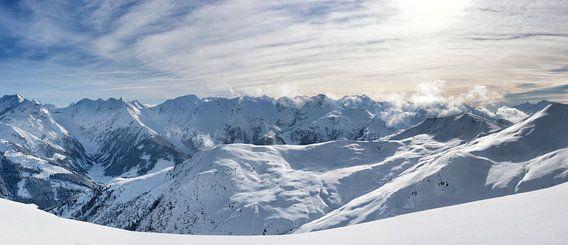 Tiroler Alpen panorama van Sjoerd van der Wal