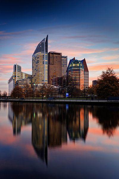 Haagse skyline van gaps photography