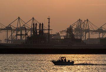 Maasvlakte, Hoek van Holland / Rotterdam von Eddy Westdijk