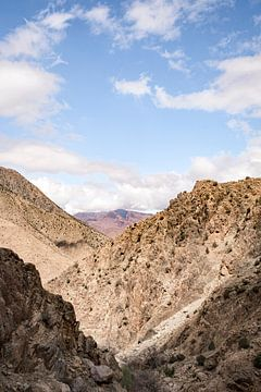 Uitzicht vanaf het Atlasgebergte in Marokko