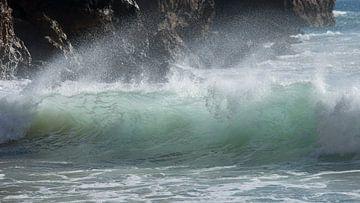 Golven aan de Algarve van Barbara Brolsma