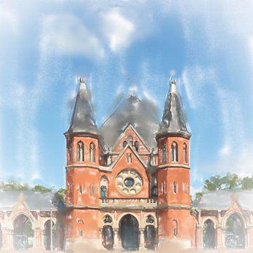 Église du cimetière sur Frank Heinz