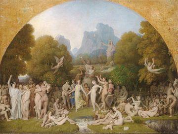 Das goldene Zeitalter, Jean Auguste Dominique Ingres