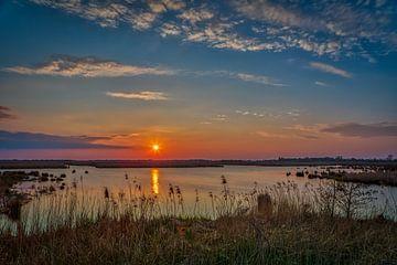 zonsondergang van Wil de Boer