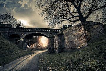 Alte Brücke von Bert-Jan de Wagenaar