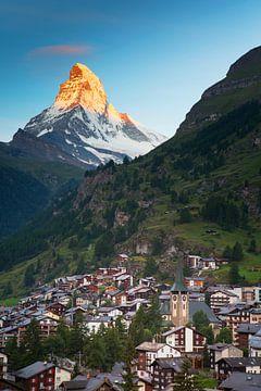 Zermatt en de Matterhorn van