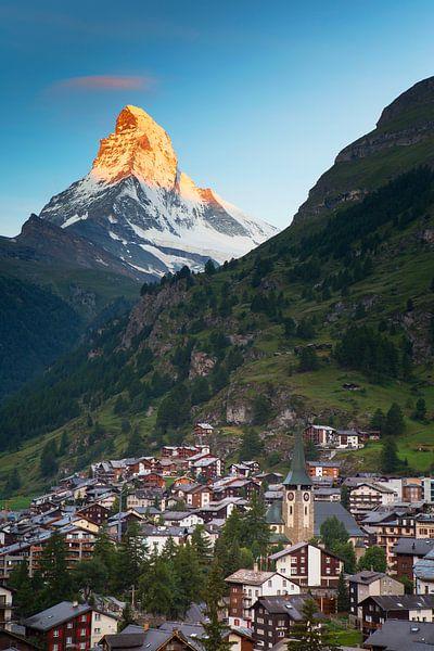 Zermatt und Matterhorn von Menno Boermans
