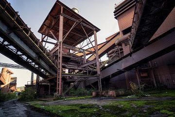 verlaten staalfabriek sur Kristof Ven
