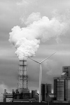 Eemshaven kolencentrale van Jan Brons