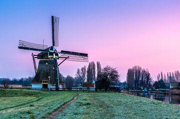 Schafmolkenmühle in Rijswijk von Gijs Rijsdijk