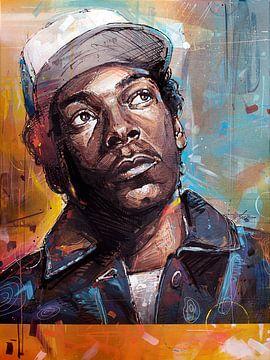 Snoop Dogg  malerei von Jos Hoppenbrouwers