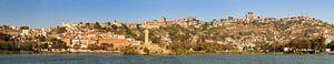 Downtown Antananarivo panorama van